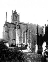 Ancienne abbaye Notre-Dame - Eglise, ensemble nord-est