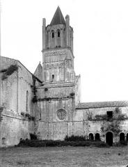 Ancienne abbaye Notre-Dame - Eglise, clocher, côté sud-ouest