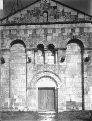 Eglise Saint-Dizant - Façade ouest