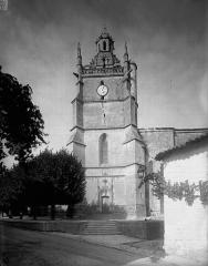 Eglise Saint-Fortunat - Clocher, côté sud