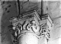 Eglise Saint-Sulpice - Nef, chapiteau