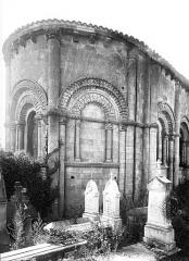 Eglise Saint-Pierre de Marestay - Abside, au nord
