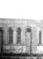 Eglise Saint-Martin - Façade, partie nord
