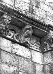 Eglise Saint-Trojan - Modillons