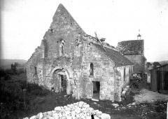 Eglise et ancien cimetière communal - Ensemble ouest
