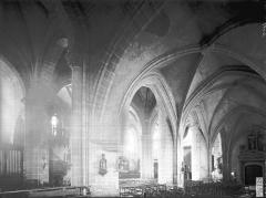 Eglise Saint-Laurent - Bas-côté nord et nef