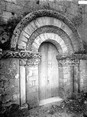Eglise Saint-Martin - Portail nord