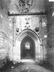 Eglise Saint-Maixent - Portail ouest