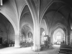 Eglise Saint-Maixent - Nef, vue diagonale