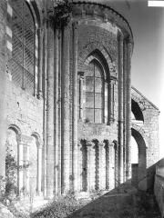 Ancienne abbaye Saint-Jouin - Partie de l'abside, au sud