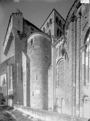 Ancienne abbaye Saint-Jouin - Façade sud, partie