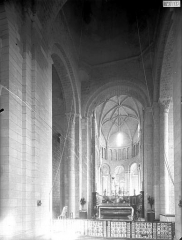 Ancienne abbaye Saint-Jouin - Transept et choeur