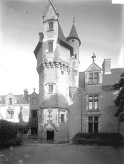 Maison du Président Tindeau ou Hôtel Tyndo - Tourelle,