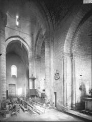 Eglise Saint-Maixent de Verrines - Transept, intérieur