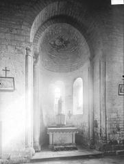 Eglise Saint-Maixent de Verrines - Absidiole sud, intérieur