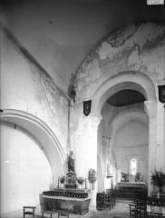 Eglise Saint-Barthélémy - Nef, vue de l'entrée