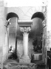 Eglise Saint-Généroux - Choeur, baie geminée