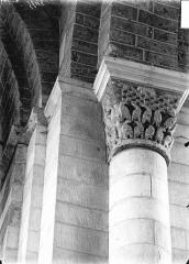 Ancienne abbaye Saint-Jouin - Chapiteau