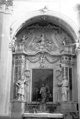 Eglise Saint-Nicolas-de-Myre - Retable, tableau : Annonciation