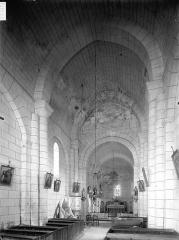 Eglise Saint-Palais - Nef, vue de l'entrée