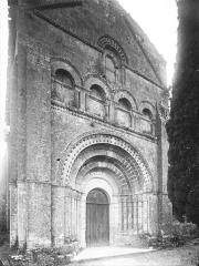 Eglise Saint-Palais - Façade ouest