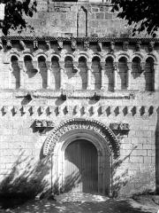 Eglise Saint-Quentin - Façade ouest