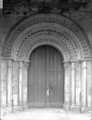 Eglise Saint-Sylvain - Portail ouest