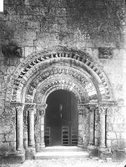 Eglise Saint-Sulpice - Portail ouest