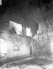 Ancien château - Donjon de l'Islot, intérieur