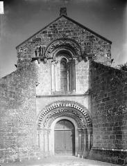 Eglise Saint-Saturnin - Façade ouest