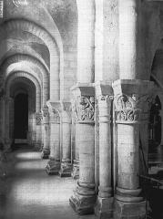 Eglise Saint-Eutrope - Crypte, bas-côté nord