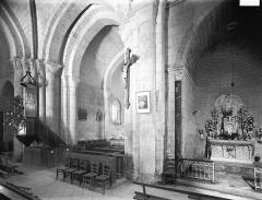 Eglise Saint-Grégoire£ - Transept et choeur