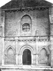Eglise Saint-Vivien - Façade ouest