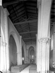 Eglise Saint-Germain£ - Nef, vue de l'entrée
