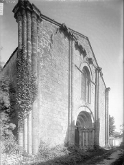 Eglise Saint-Germain - Façade ouest