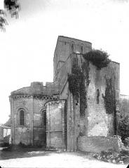 Eglise Saint-Germain£ - Abside et transept, au nord