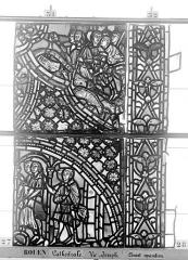 Ensemble archiépiscopal - Vitrail, baie 59, Vie de Joseph, huitième panneau, en haut