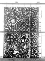 Ensemble archiépiscopal - Vitrail, baie 59, Vie de Joseph, dixième panneau, en haut