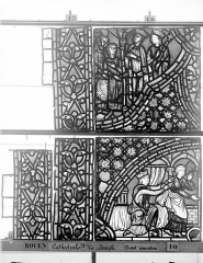 Ensemble archiépiscopal - Vitrail, baie 59, Vie de Joseph, onzième panneau, en haut