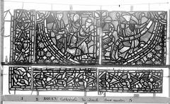 Ensemble archiépiscopal - Vitrail, baie 59, Vie de Joseph, treizième panneau, en haut