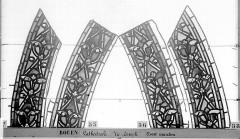 Ensemble archiépiscopal - Vitrail, baie 59, Vie de Joseph, bordures