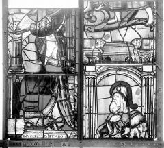 Ancienne église Saint-Eloi - Vitrail, fenêtre 2, panneaux