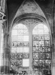 Ancienne cathédrale Saint-Etienne - Vitrail