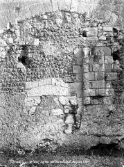 Eglise Saint-Martin£ - Façade nord : Partie antique