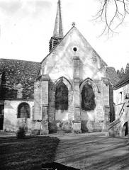 Ancienne Abbaye cistercienne de la Bussière, actuellement Centre d'accueil et de rencontre - Eglise, abside