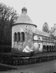 Domaine du château de Bussy-Rabutin - Aile gauche, tour