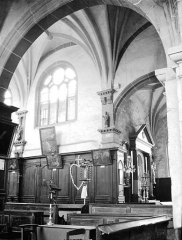 Eglise Saint-Loup - Transept