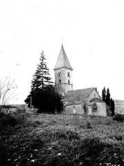 Chapelle de Fixey - Ensemble sud-est