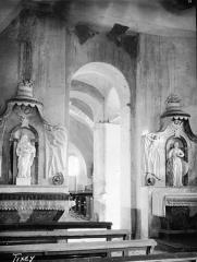 Chapelle de Fixey - Nef, vue de l'entrée
