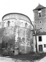 Eglise Sainte-Marie - Abside et clocher